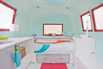 Traveling to Austin?  You can't miss urban glamping at the Rambler Ranch in a solar powered trailer!