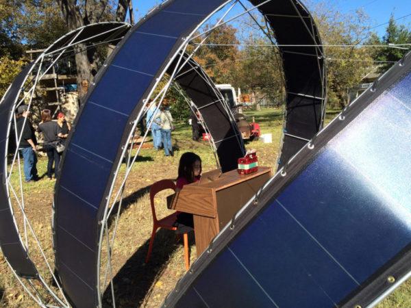 solar dome close