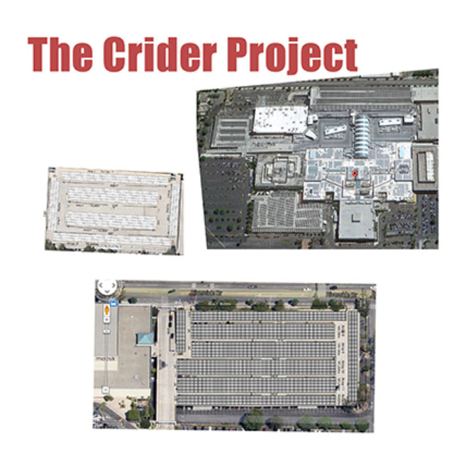 mall solar powered parkinglots by indie solar