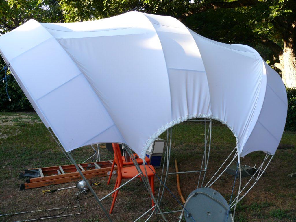 solar dome white